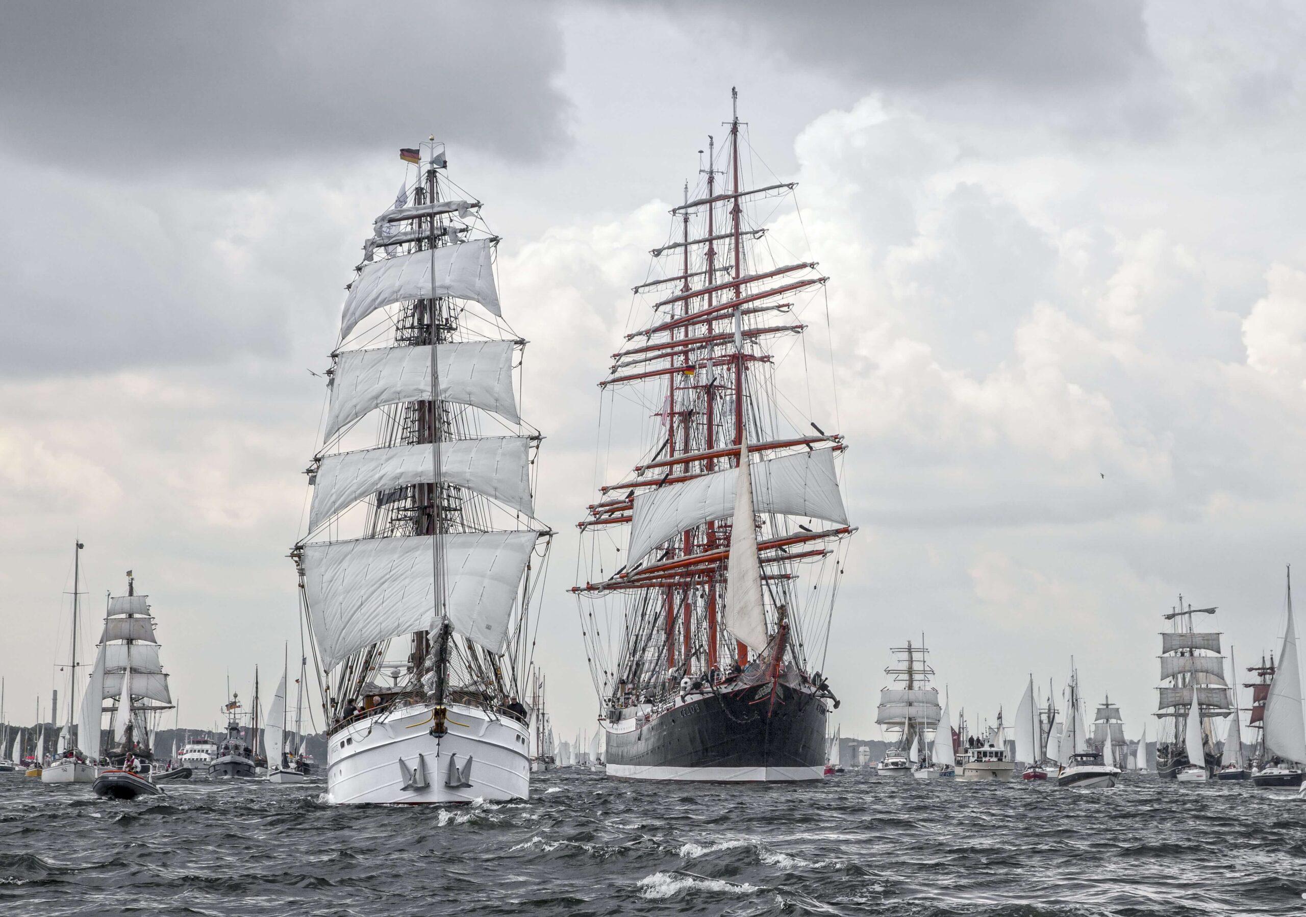 Посмотрите рыбное событие: Крупнейший в мире парусный флот в Таллинне!